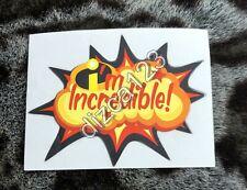 Disney Sticker I'm Incredible Sticker