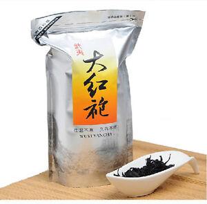 250g Da Hong Pao Tea Big Red Robe Oolong Tea Weight Loss Black Tea Dahongpao Tea