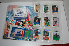 PANINI FRANCE 98 loose Set, EMPTY ALBUM, 3 packets, extra stickers (100% original)