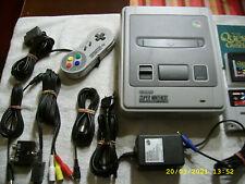 Super..Nintendo..inkl. Spiele..Controller..Kabel...(  SNES - Paket  )