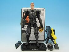 GI Joe ROC Conrad Duke Hauser (v35) Delta-6 Accelerator Suit Rise of Cobra 3.75""