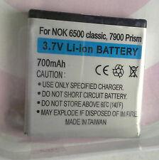 7900AK20 3,7v 700mAh Akku für NOKIA 6500 classic;7900 Prism