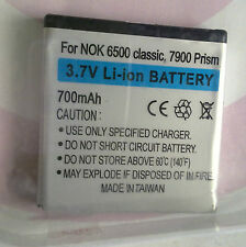 7900ak20 3,7v 700mah batteria per Nokia 6500 Classic; 7900 Prism