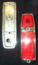 NOS Pair of ALTISSIMO Side Marker Lights Reflectors (Lot) Rear Red New Old Stock