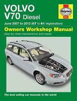VOLVO V70 Diesel (Juni 2007-2012) Reparaturanleitung workshop repair manual Buch