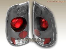 1999-2007 FORD F-250/F-350/F-450/F-550 TAIL LIGHTS CARBON 99 00 01 02 03 04 05
