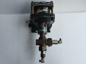 Haskel DF-B60 Air Driven Liquid / Fluid Pump, 60:1 Ratio, Max Pressure: 9800 PSI