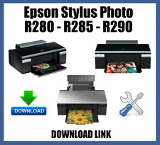 Epson Stylus Photo R280 R285 R290 Waste Ink Pad Counters Flashing light Reset