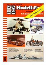 Modell Fan inter. Magazin *Modellbau* Ausgabe 6 / 1985 - Zustand: 1   #3634#