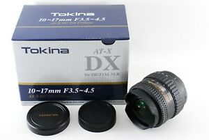 Exc++++ Tokina AT-X 107 Fisheye 10-17mm f/3.5-4.5 DX for Nikon from Japan 1771