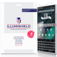 3x iLLumiShield Screen Protector Anti-Bubble for Blackberry KEY2 (BBF100-2)