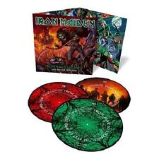 IRON MAIDEN FROM FEAR TO ETERNITY 3 VINILI LP PICTURE DISC GATEFOLD NUOVO !!