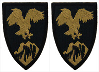 2 Pack U.S. Army Combined Forces Command Afghanistan OCP Hook Military Patches