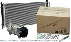 Global Parts Distributors 9642180A A/C Compressor For 12 BMW 650i 650i xDrive