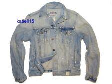 Abercrombie & Fitch Keene Valley Destroyed Denim Jacket Men's Medium