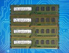 8GB (4x2GB) PC3-10600u DDR3-1333MHz 2Rx8 Non-ECC Samsung M378B5673FH0-CH9