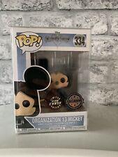 Funko Pop Organization 13 Mickey Glow Chase Excluisive Kingdom Hearts 334 Rare