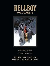 Hellboy Library Edition Volume 5 by Mike Mignola (2012, Hardcover)