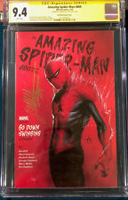 Gabriele Dell'Otto SIGNED Amazing Spider-Man #800 CGC 9.4 COMIC ss cbcs