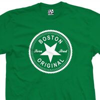 ebe6f9869692 Boston Original Inverse T-Shirt - Born and Bred in Made Tee - All Sizes