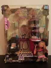 2009 HANNAH MONTANA Stylin' Salon! POP STAR Hangout Collection Play Along Set