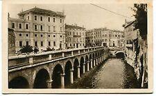 1931 Mantova Rio e Palazzo dei Sindacati Fascisti Guller Lucca FP B/N VG ANIM