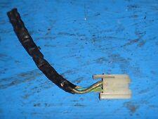 1984-1989 C4 CORVETTE DASH HARNESS BOSE RADIO HARNESS WHITE CONNECTOR PIGTAIL