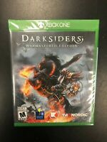 Darksiders Warmastered Edition Xbox One Brand New Factory Sealed Complete CIB 1