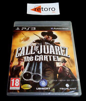 CALL OF JUAREZ THE CARTEL Sony Playstation 3 PS3 Play Station 3 PAL-España Nuevo