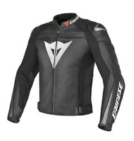DAINESE SUPER SPEED-R LEATHER JACKET MOTORBIKE / MOTORCYCLE BLACK