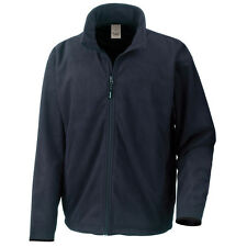 R109 Result Jackets Extreme Climate Stopper Showerproof Fleece Navy