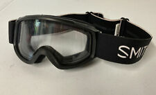 SMITH Kids Sidekick Youth Fit SMALL Ski Snowboard Goggles BLACK, Clear Lens RC36