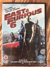 Fast & Furious 6 DVD Vin Diesel Paul Walker Dwayne Johnson New Sealed