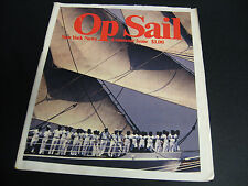 NEWSPAPER NEW YORK NEWS-1976-OP SAIL-SAILING-A SOUVENIR ISSUE-WORLD TRADE CENTER