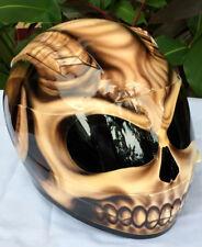 Hell's Goat Evil Goat Sleepy Hollow Motorcycle Airbrush Helmet Custom Helmet