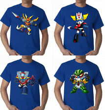 tshirt JEEG ROBOT DAITARN 3 MAZINGA GOLDRAKE manga T-shirt taglie fino alla 5XL