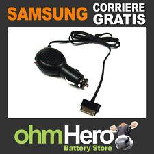 Caricabatterie da Auto per Samsung Galaxy Tab P1000 P1010