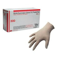 300 Disposable Medium Exam Dental Medical Tattoo Glove Nitrile Powder Free