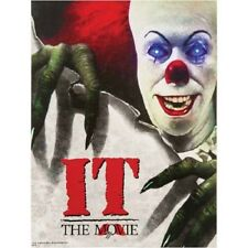 NEW Light Up Eyes IT the Movie Poster Canvas Picture CLOWN