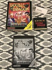 Mint - Double Dragon (Atari Lynx, 1993) Telegames Complete In Box, Tested