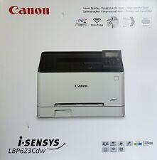 Canon i-SENSYS LBP623Cdw Farblaserdrucker, A4, USB, LAN, WLAN, Duplex - Weiß
