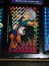 DRAGON BALL Z GT DBZ HERO COLLECTION PART 3 CARDDASS CARD PRISM CARTE 323 JAPAN