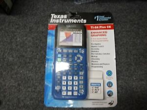 *NEW* Texas Instruments Ti-84 Plus CE Graphing Calculator, Blue