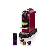 Krups Nespresso CitiZ Pad-Kaffeemaschine 1l, Rot