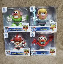 New listing Mr. Potato Head Toy Story set of 4 mini - Duke Caboom, Buzz, Forky & Bo Peep