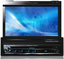 DAB+ Autoradio mit Bildschirm Navigation 7 Zoll Bluetooth GPS SD USB bis 64 GB