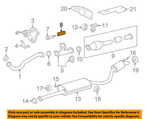 TOYOTA OEM Exhaust-Front Pipe Spring 90501A0005