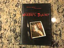 WHERE'S JULIE? RARE LIKE NEW DVD 2006 LOW BUDGET HORROR THRILLER SHORT FILM!