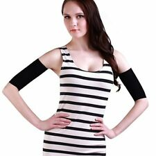 A pair of Slimming Arm Shaper Fat Burning for Woman-Black