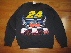 Vintage 1995 JEFF GORDON No. 24 DUPONT REFINISH RACING (MED) Sweatshirt